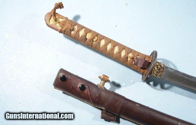 FINE JAPANESE KATANA (SAMURAI SWORD) CIRCA LATE 1700'S IN