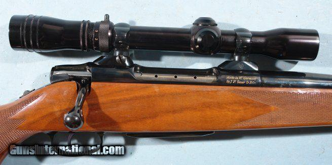 SUPERIOR COLT SAUER SPORTING RIFLE 7MM REM MAG WITH SCOPE BY