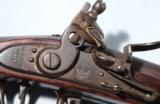 FINE HARPERS FERRY MODEL 1795 ALL ORIGINAL FLINTLOCK MUSKET DATED 1816. - 3 of 11