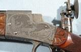 EXCEPTIONAL GERMAN SYSTEM AYDT .22LR CAL. SCHUTZEN RIFLE SIGNED CARL GROSS/ESSLINGEN. CIRCA LATE 1920'S. - 5 of 12