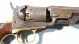 CIVIL WAR CONNECTICUT 23RD VOLS. INSCRIBED COLT 1849 POCKET REVOLVER. - 11 of 11