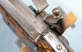 FRENCH NAPOLEONIC FIRST EMPIRE ST. ETIENNE FLINTLOCK OFFICER'S PISTOL CA. 1812-14. - 7 of 10