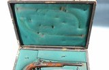 CASED PAIR OF JOHAN NOVOTNY OF PRAGUE PERCUSSION DUELLING/TARGET PISTOLS CA. 1860'S-70'S. - 3 of 14