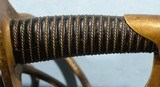 EXCELLENT AMES CIVIL WAR U.S. MODEL 1840 CAVALRY SABER DATED 1858 WITH SCABBARD. - 7 of 7