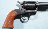 """NEW IN BOX RUGER NEW BEARCAT .22LR 4"""" BLUE SINGLE ACTION REVOLVER, CIRCA 1997. - 3 of 6"""