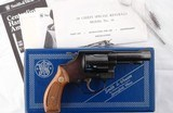 """LIKE NEW IN BOX SMITH & WESSON CHIEF'S SPECIAL OR MODEL 36 36-1 .38 SPECIAL 3"""" J FRAME REVOLVER, CIRCA 1981."""