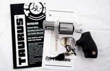 NEW UNFIRED TAURUS MODEL 85 ULTRA-LITE .38 SPECIAL MATTE STAINLESS 2