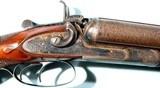 "BRILLIANT WILLIAMS & POWELL, LIVERPOOL SIMPLEX 12 GA. 2 ¾"" HEAVY DUCK HAMMER DOUBLE SHOTGUN CIRCA 1870'S."