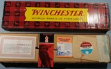 ORIGINAL BOX, HANGING TAG AND WARRANTY CARD FOR WINCHESTER MODEL 101 .410GA SHOTGUN, CIRCA 1970.