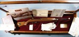 CASED IVER JOHNSON AMERICAN HISTORICAL FOUNDATION WW2 COMMEMORATIVE .30 CAL. M1 OR M-1 CARBINE BY IVER JOHNSON, CIRCA 1985.