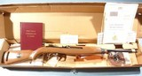 CASED WW2 WWII 40TH ANNIVERSARY EDITION COMMEMORATIVE U.S. M-1 OR M1 CARBINE .30CAL FOR THE AMERICAN HISTORICAL FOUNDATION BY IVER JOHNSON, CIRCA 1985