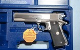 NEW IN BOX COLT GOVERNMENT MODEL 1911 1911A1 MK IV SERIES 80 STAINLESS .40S&W PISTOL, CIRCA 1991. - 2 of 6