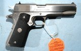 NEW IN BOX COLT GOVERNMENT MODEL 1911 1911A1 MK IV SERIES 80 STAINLESS .40S&W PISTOL, CIRCA 1991. - 3 of 6
