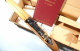 CASED WW2 WWII 40TH ANNIVERSARY EDITION COMMEMORATIVE U.S. M-1 OR M1 CARBINE .30CAL FOR THE AMERICAN HISTORICAL FOUNDATION BY IVER JOHNSON, CIRCA 1985 - 4 of 10
