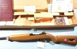 CASED WW2 WWII 40TH ANNIVERSARY EDITION COMMEMORATIVE U.S. M-1 OR M1 CARBINE .30CAL FOR THE AMERICAN HISTORICAL FOUNDATION BY IVER JOHNSON, CIRCA 1985 - 2 of 10