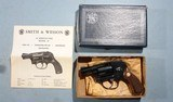 "BOXED MINT SMITH & WESSON MODEL 49 BODYGUARD .38 SPECIAL 2"" SHROUDED HAMMER POCKET REVOLVER, CIRCA 1979."