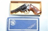 """SMITH & WESSON MODEL 19 COMBAT MASTERPIECE .357 MAG. 4"""" IN ORIG. BOX. - 1 of 7"""