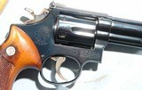 """SMITH & WESSON MODEL 19 COMBAT MASTERPIECE .357 MAG. 4"""" IN ORIG. BOX. - 3 of 7"""