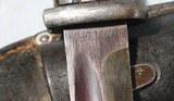 EXCELLENT WW2 MAUSER K98K BAYONET INSPECTED ASW 42 WITH MATCHING SCABBARD AND FROG. - 2 of 4