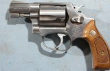 """1991 LIKE NEW SMITH & WESSON MODEL 60-7 OR 60 .38 SPECIAL 2"""" STAINLESS PRE-LOCK REVOLVER NEW IN BOX. - 2 of 6"""