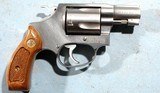 """1991 LIKE NEW SMITH & WESSON MODEL 60-7 OR 60 .38 SPECIAL 2"""" STAINLESS PRE-LOCK REVOLVER NEW IN BOX. - 4 of 6"""