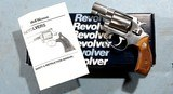 "1991 LIKE NEW SMITH & WESSON MODEL 60-7 OR 60 .38 SPECIAL 2"" STAINLESS PRE-LOCK REVOLVER NEW IN BOX."