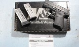 LIKE NEW IN BOX SMITH & WESSON M&P M&P9 SHIELD PC (PERFORMANCE CENTER) 9MM COMPACT PISTOL.