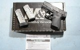 NEW IN BOX SMITH & WESSON M&P40 OR M&P 40 SHIELD PC (PERFORMANCE CENTER) 40S&W COMPACT PISTOL.