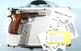 SMITH & WESSON 952-2 OR 952 PC PERFORMANCE CENTER 9MM D.A. PISTOL NEW IN BOX.