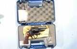 """NEW IN BOX SMITH & WESSON MODEL 24-6 .44 SPECIAL 3"""" BLUE D.A. REVOLVER."""