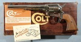 """1980'S NEW IN BOX COLT MODEL 1873 SAA PEACEMAKER SINGLE ACTION ARMY 7 1/2"""" NICKEL .44 SPECIAL REVOLVER. - 1 of 7"""