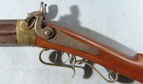 VERY FINE NEW YORK STATE PERCUSSION O/U COMBINATION RIFLE/SHOTGUN SIGNED J. OGDEN/OWEGO, N.Y. CIRCA 1850. - 7 of 16