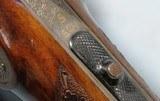 LUDWIG BOROVNIK OF FERLACH (AUSTRIA) SIDE LOCK DRILLING BEST GRADE 16 - 16GA - 9.3X74R COMBO GUN, CIRCA 1980. - 9 of 9