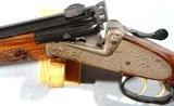 LUDWIG BOROVNIK OF FERLACH (AUSTRIA) SIDELOCK SINGLE SHOT BEST GRADE 7X75R RIFLE, CIRCA 1980. - 12 of 12