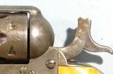 EARLY ORIGINAL COLT BLACK POWDER .44 HENRY RIMFIRE CAL. SINGLE ACTION REVOLVER CIRCA 1875. - 7 of 11