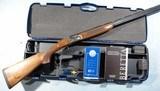 BERETTA SILVER PIGEON 1 OVER/UNDER 28 GA. SHOTGUN CA. 1990'S IN FACTORY CASE W/PAPERS ETC.