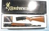 "BROWNING MODEL 12 20GA.2 ¾"" GRADE 1 PUMP SHOTGUN IN BOX CIRCA 1988."