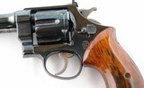 """1934 SMITH & WESSON 2ND MODEL HAND EJECTOR (HE) TARGET .44 SPECIAL 6 1/2"""" BLUE D.A. REVOLVER. - 3 of 7"""