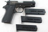 STAR MODEL BM OR MODEL B 9MM COMPACT SEMI-AUTO PISTOL WITH FOUR MAGS, CIRCA 1982. - 1 of 5