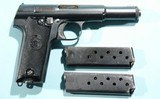 1945 ASTRA MODEL 600/43 OR 600 PORTUGESE NAVY MODEL SEMI-AUTO 9MM LUGER CALIBER PISTOL.
