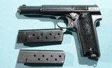 1945 ASTRA MODEL 600/43 OR 600 PORTUGESE NAVY MODEL SEMI-AUTO 9MM LUGER CALIBER PISTOL. - 2 of 7