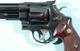 """1980 SMITH & WESSON 1955 MODEL 25 OR 25-2 TARGET HEAVY PINNED BARREL 6 1/2"""" .45ACP BLUE REVOLVER. - 5 of 7"""