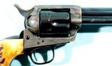 """COLT FRONTIER SIX SHOOTER SINGLE ACTION .44-40 CAL. 4 ¾"""" REVOLVER CA. 1909. - 5 of 12"""