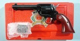 RUGER SINGLE-SIX CONVERTIBLE 22LR/22MAG 50 YEAR ANNIVERSARY REVOLVER NEW UNFIRED IN ORIG. BOX CA. 2003.