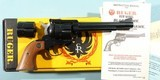 """1989 NEW IN BOX RUGER NEW MODEL BLACKHAWK .32-20 / .32H&R MAG 6 1/2"""" CONVERTIBLE BLUE REVOLVER. - 1 of 6"""