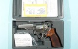 "2014 RUGER GP100 MATCH CHAMPION .357 MAGNUM 4 1/4"" STAINLESS REVOLVER LIKE NEW IN ORIG. BOX."