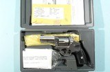 """2008 RUGER SP101 .327 FEDERAL MAGNUM 3"""" STAINLESS D.A. REVOLVER W/ ORIG BOX."""