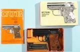 1966 NEW IN ORIG. BOX ASTRA MODEL 2000 OR CUB .22 SHORT VEST POCKET PISTOL. - 1 of 9