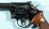 """1949 SMITH & WESSON K38 OR K-38 TARGET MASTERPIECE .38 SPECIAL 6"""" BLUE REVOLVER. - 3 of 9"""