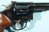 """1949 SMITH & WESSON K38 OR K-38 TARGET MASTERPIECE .38 SPECIAL 6"""" BLUE REVOLVER. - 4 of 9"""